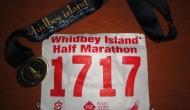 Running the Whidbey Island HalfMarathon