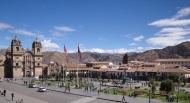 Eating Guinea Pig in Cusco,Peru
