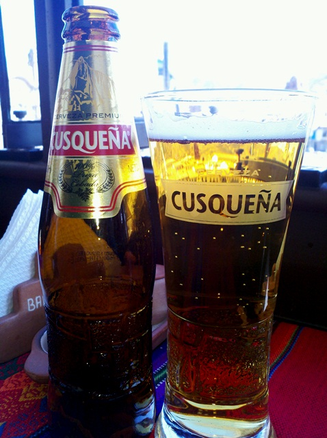 Cusquena Cervesa- Cheers!