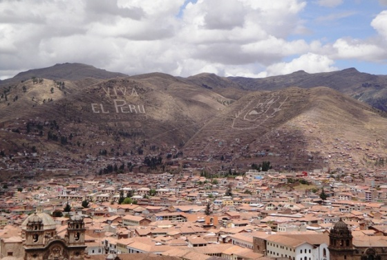Hills of Cusco, Peru