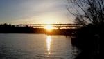 sunset over LakeUnion