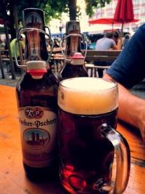 Viktualienmarkt Biergarten