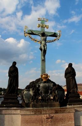 statue of 17th Century Crucifx