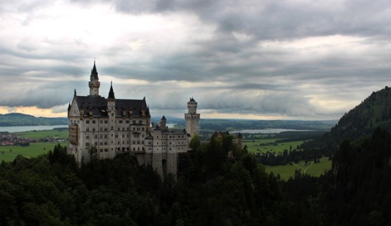 at Neuschwanstein Castle