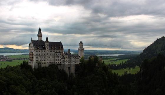 at Neuschwanstein Castle