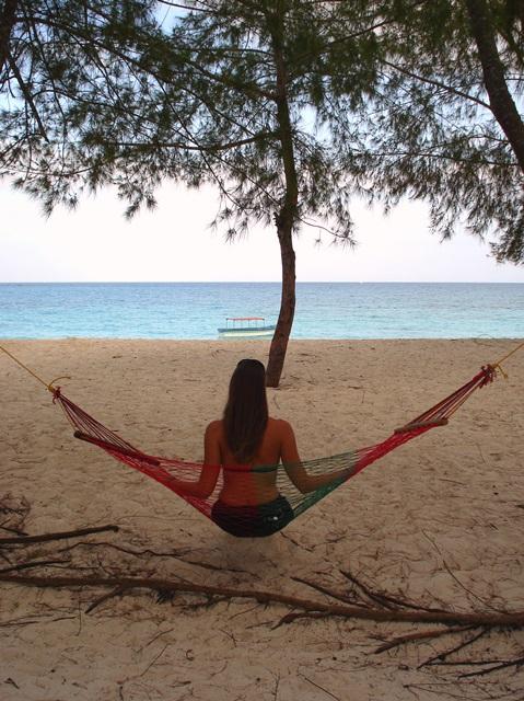 hammock at Kendwa Beach