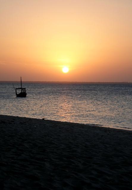 Kendwa Beach sunset