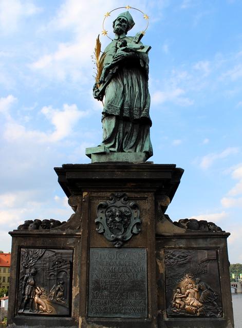 St John of Nepomuk statue-1