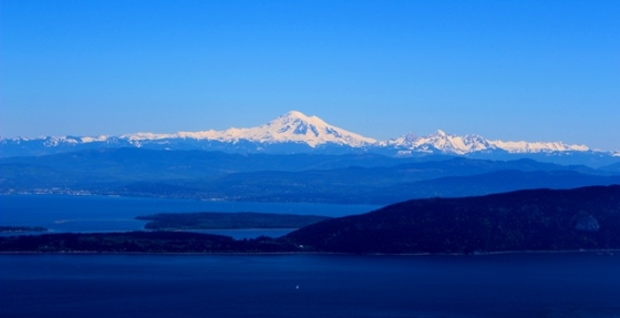 1-Mount Baker from Orcas Island