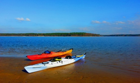 15-NC-Kayaking Jordan Lake