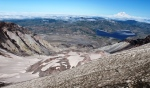 5-Into the crater at Mt St Helens
