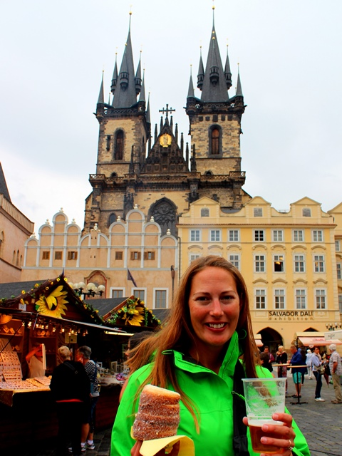 me in Prague's Old Town Square
