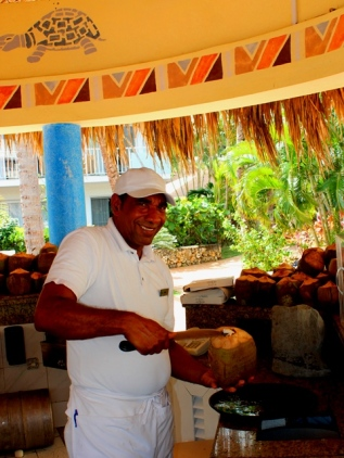making coco loco