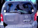 Bear markings on the dusty Xterra-WA