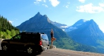 yoga at Glacier NP- MT