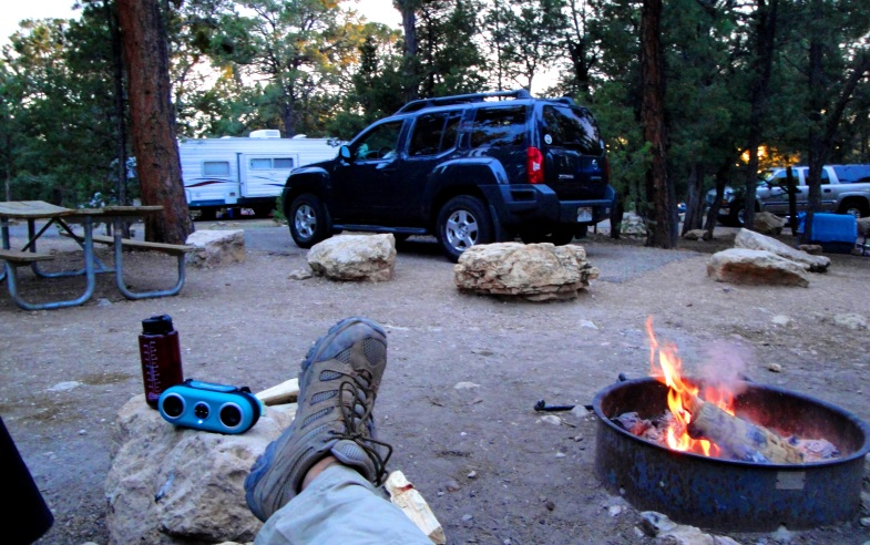 camping in Grand Canyon NP- AZ