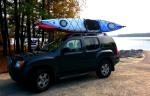 Kayaking Jordan Lake-NC