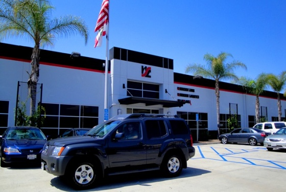 picking up the Xterra in Long Beach, CA