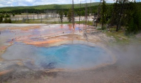 geyser before