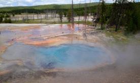 geyser before